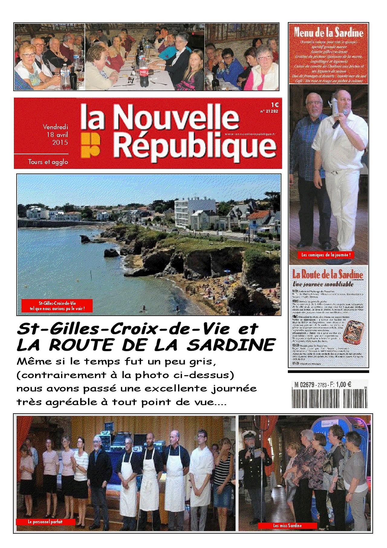 Une journée à Saint Gilles Croix de vie pour les amicalistes de la Nouvelle République