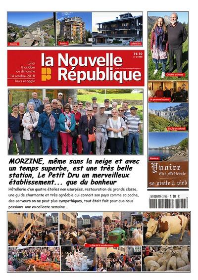 L'amicale des retraités de La Nouvelle République à Morzine photo article