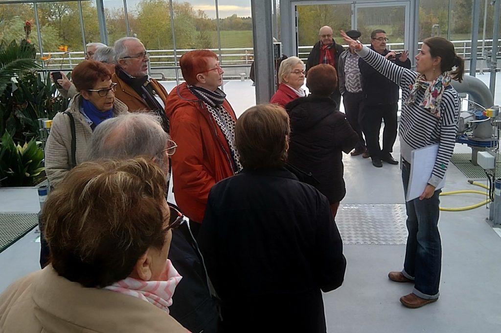 L'amicale des retraites de la Nouvelle République en visite le 8 novembre à la nouvelle station d'épuration de Luynes